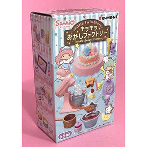 Little Twin Stars Twinkle Sweets Factory Re-Ment Blind Box - plushiepink