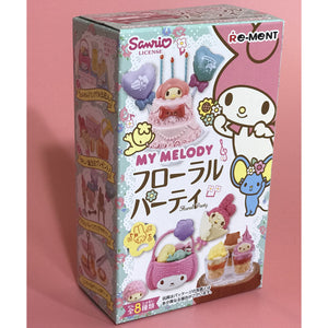 My Melody Floral Party Re-Ment Blind Box - plushiepink
