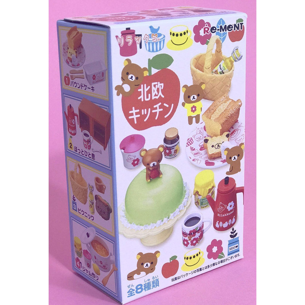 Rilakkuma Bear Nordic Kitchen Re-Ment Blind Box - plushiepink