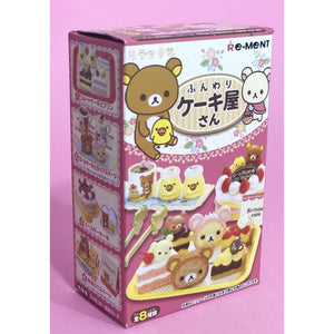 Rilakkuma Bear Cake Shop Blind Box - plushiepink