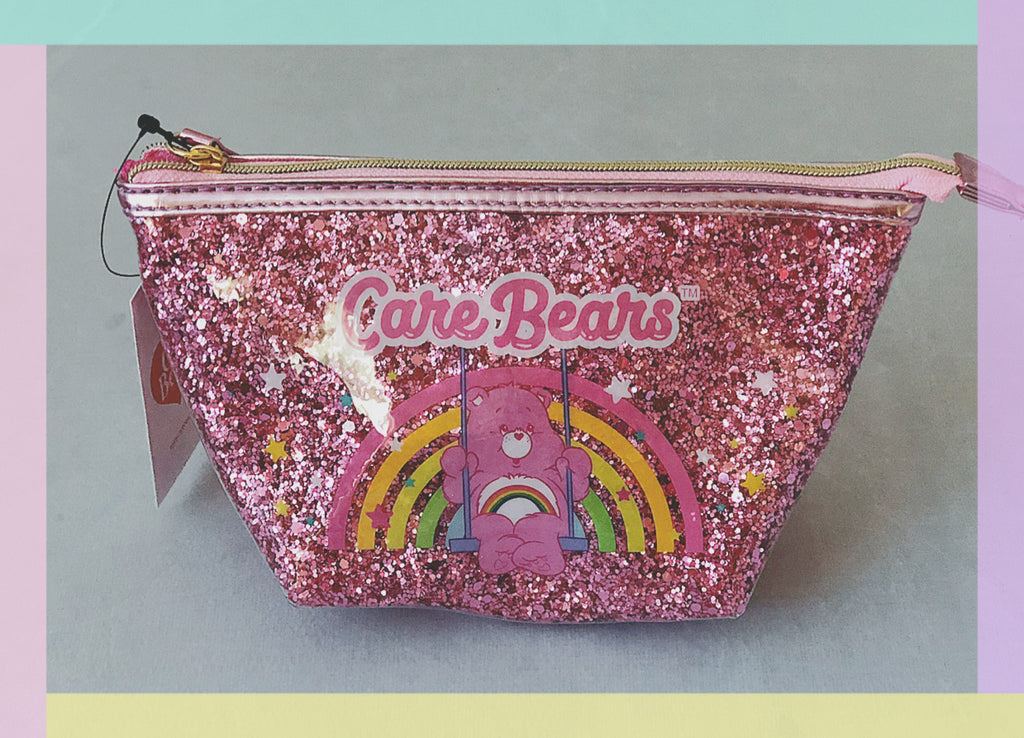 Care Bears shaped cosmetic bag