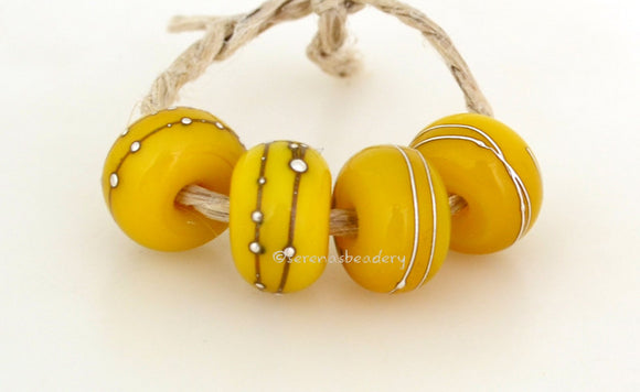 Bright Yellow Silver #2034 - Serena's Beadery