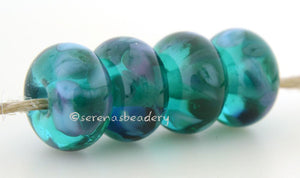 Duck Day Teal green lampwork glass beads with green, turquoise and purple frit.Bead Size: 6x11-12 or 7x13-14 mmHole Size: 2.5 mmprice is for one bead with a discount for 4 or more 11-12 mm,Glossy,13-14 mm,Glossy,11-12 mm,Matte,13-14 mm,Matte