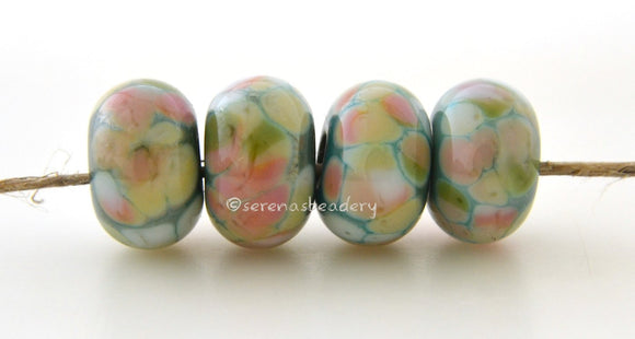 Super Soft Minty green lampwork glass beads with yellow, peach, olive, and cream.Bead Size: 6x11-12 or 7x13-14 mmHole Size: 2.5 mmprice is for one bead with a discount for 4 or more 11-12 mm,Glossy,13-14 mm,Glossy,11-12 mm,Matte,13-14 mm,Matte
