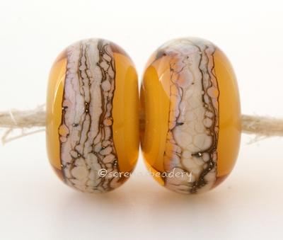 Amber Granite White Heart