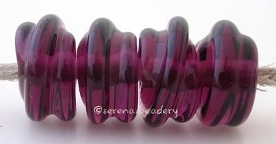 Amethyst Raised Spirals transparent amethyst beads with a raised spiral6x12 mmprice is per bead Glossy,Matte