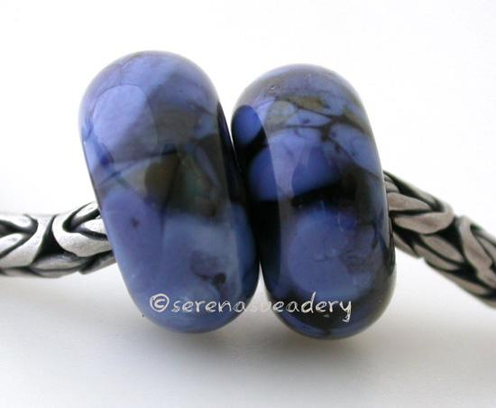 Black Denim European Charm Beads