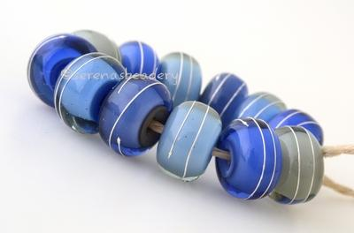 Blue Thunder Silver Wrap Set