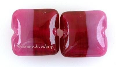 Cranberry Peony Duo A pillow shape in cranberry and peoni. 13 mm price is per pair Default Title