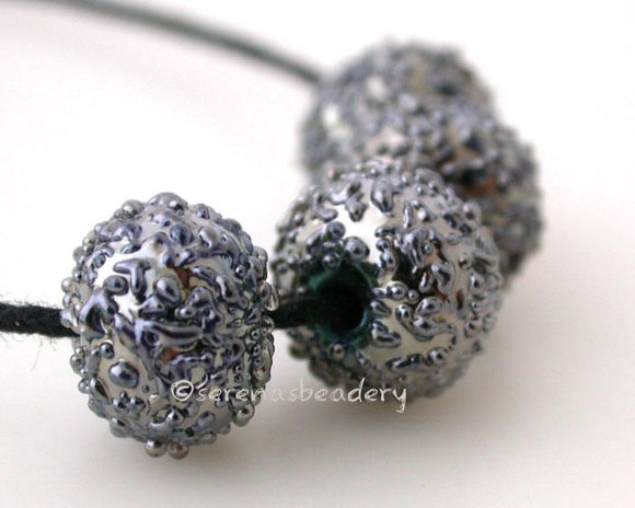 Disco Ball Silver disco ball luster sugar lampwork beads   Bead Size: 6x12 mm Hole Size: 1.5 mm price is for one bead with a discount for 4 or more 11-12 mm,Glossy,11-12 mm,Matte,13-14 mm,Glossy,13-14 mm,Matte