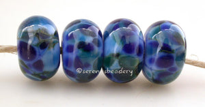 Blue My Mind Periwinkle blue base with a deep blue frit.Bead Size: 6x11-12 or 7x13-14 mmHole Size: 2.5 mmprice is for one bead with a discount for 4 or more 11-12 mm,Glossy,13-14 mm,Glossy,11-12 mm,Matte,13-14 mm,Matte