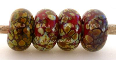 Tomato Raku red tomato raku frit covered lampwork beads Bead Size: 6x12 mmHole Size: 2.5 mmprice is for one bead with a discount for 4 or more 11-12 mm,Glossy,13-14 mm,Glossy,11-12 mm,Matte,13-14 mm,Matte