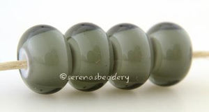 Twilight White Heart twilight grey with a white heart6x12 mmprice is per bead Glossy,Matte