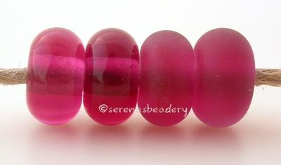 Pink Lady Color Notes: a lovely transparent hot pink5x10 mm Available shapes and sizes:Round Bead Shapes: Available to order 8 to 15 mm with hole sizes ranging from 1.5 to 5 mm. See drop down menu for the exact options. Shown here in 8, 9 and 10 mm with both a 2.5 mm and 1.5 mm hole. 4 and 5 mm holes will fit European Charm style jewelry.Also available in a wavy disk or bead cap:. Pressed bead shapes:Lentil - 12x13 mm in size with a 1.5mm hole.: Pillow 13 mm square with a 1.5 mm hole.: Tab: Default Title