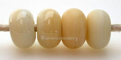 Nougat Color Notes: an oddlot color that is no longer in production - once its gone, there will be no more 5x10 mm Available shapes and sizes:Round Bead Shapes: Available to order 8 to 15 mm with hole sizes ranging from 1.5 to 5 mm. See drop down menu for the exact options. Shown here in 8, 9 and 10 mm with both a 2.5 mm and 1.5 mm hole. 4 and 5 mm holes will fit European Charm style jewelry.Also available in a wavy disk or bead cap:. Pressed bead shapes:Lentil - 12x13 mm in size with a 1.5mm hole.: Pillow