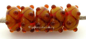 Amber and Mustard dots transparent amber beads with yellow ocher dots and raised amber mini dots. 6x12 mm price is per bead Glossy,12mm,Glossy,13mm,Glossy,14mm,Glossy,15mm,Glossy,16mm,Glossy,17mm,Matte,12mm,Matte,13mm,Matte,14mm,Matte,15mm,Matte,16mm,Matte,17mm