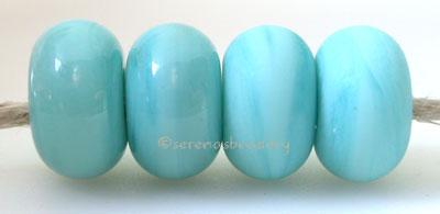 Opaque Turquoise Color Notes: an oddlot color that is no longer in production - once its gone, there will be no more 5x10 mm Available shapes and sizes:Round Bead Shapes: Available to order 8 to 15 mm with hole sizes ranging from 1.5 to 5 mm. See drop down menu for the exact options. Shown here in 8, 9 and 10 mm with both a 2.5 mm and 1.5 mm hole. 4 and 5 mm holes will fit European Charm style jewelry.Also available in a wavy disk or bead cap:. Pressed bead shapes:Lentil - 12x13 mm in size with a 1.5mm hole