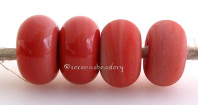 Dusty Rose Color Notes: a dusty rose shade of coral 5x10 mm Available shapes and sizes:Round Bead Shapes: Available to order 8 to 15 mm with hole sizes ranging from 1.5 to 5 mm. See drop down menu for the exact options. Shown here in 8, 9 and 10 mm with both a 2.5 mm and 1.5 mm hole. 4 and 5 mm holes will fit European Charm style jewelry.Also available in a wavy disk or bead cap:. Pressed bead shapes:Lentil - 12x13 mm in size with a 1.5mm hole.: Pillow 13 mm square with a 1.5 mm hole.: Tab: Default Title