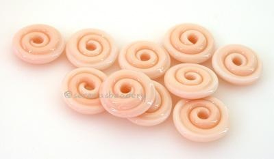 Light Ginger Wavy Disk Spacer 10 wavy disks in light ginger2 sizes available: 11-12 mm with 1.5 mm hole or 13-14 mm with 2.5 mm holeprice is per 10 disks 11-12 mm 1.5 mm hole,12-13 mm 2.5 mm hole