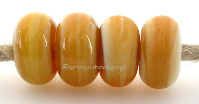 Honey Crunch Color Notes: an oddlot color that is no longer in production - once its gone, there will be no more 5x10 mm Available shapes and sizes:Round Bead Shapes: Available to order 8 to 15 mm with hole sizes ranging from 1.5 to 5 mm. See drop down menu for the exact options. Shown here in 8, 9 and 10 mm with both a 2.5 mm and 1.5 mm hole. 4 and 5 mm holes will fit European Charm style jewelry.Also available in a wavy disk or bead cap:. Pressed bead shapes:Lentil - 12x13 mm in size with a 1.5mm hole.: P