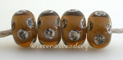 Smoke Topaz White Heart Silvered Ivory Dice