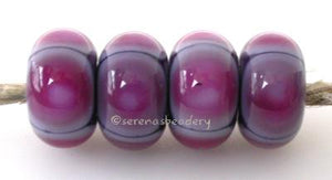 Violet and Pink Quad Dots violet and pink quad dots 5x11 mm price is per bead Default Title
