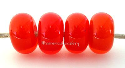 Orange White Heart orange with a white heart6x12 mmprice is per bead Glossy,Matte