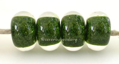 Aventurine Green Heart aventurine green cased in clear6x12 mmprice is per bead Default Title