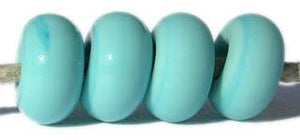 Light Turquoise Color Notes: light turquoise 5x10 mm Available shapes and sizes:Round Bead Shapes: Available to order 8 to 15 mm with hole sizes ranging from 1.5 to 5 mm. See drop down menu for the exact options. Shown here in 8, 9 and 10 mm with both a 2.5 mm and 1.5 mm hole. 4 and 5 mm holes will fit European Charm style jewelry.Also available in a wavy disk or bead cap:. Pressed bead shapes:Lentil - 12x13 mm in size with a 1.5mm hole.: Pillow 13 mm square with a 1.5 mm hole.: Tab: Default Title