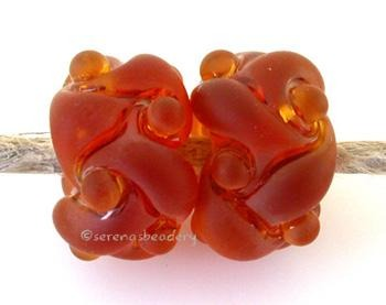 Transparent Amber Tumbled
