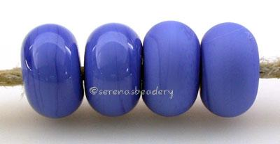 Dark Periwinkle Color Notes: in between periwinkle and light cobalt 5x10 mm Available shapes and sizes:Round Bead Shapes: Available to order 8 to 15 mm with hole sizes ranging from 1.5 to 5 mm. See drop down menu for the exact options. Shown here in 8, 9 and 10 mm with both a 2.5 mm and 1.5 mm hole. 4 and 5 mm holes will fit European Charm style jewelry.Also available in a wavy disk or bead cap:. Pressed bead shapes:Lentil - 12x13 mm in size with a 1.5mm hole.: Pillow 13 mm square with a 1.5 mm hole.: Tab: