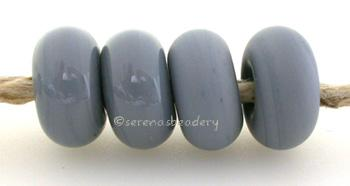 Slate Gray Color Notes: an oddlot color that is no longer in production - once its gone, there will be no more 5x10 mm Available shapes and sizes:Round Bead Shapes: Available to order 8 to 15 mm with hole sizes ranging from 1.5 to 5 mm. See drop down menu for the exact options. Shown here in 8, 9 and 10 mm with both a 2.5 mm and 1.5 mm hole. 4 and 5 mm holes will fit European Charm style jewelry.Also available in a wavy disk or bead cap:. Pressed bead shapes:Lentil - 12x13 mm in size with a 1.5mm hole.: Pil