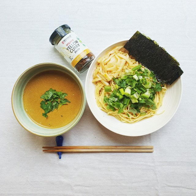 Yellow Curry Tsukemen