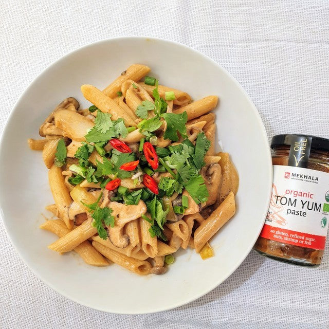 Creamy Tom Yum Pasta