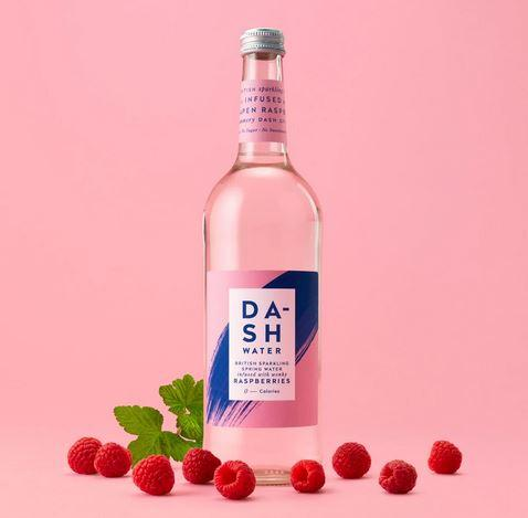 Dash Water - Raspberry Glass 750ml