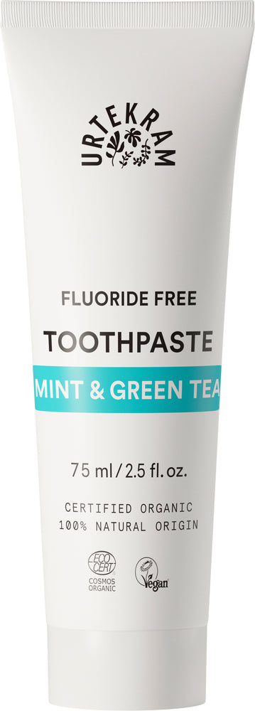 Organic Mint with Green Tea Toothpaste