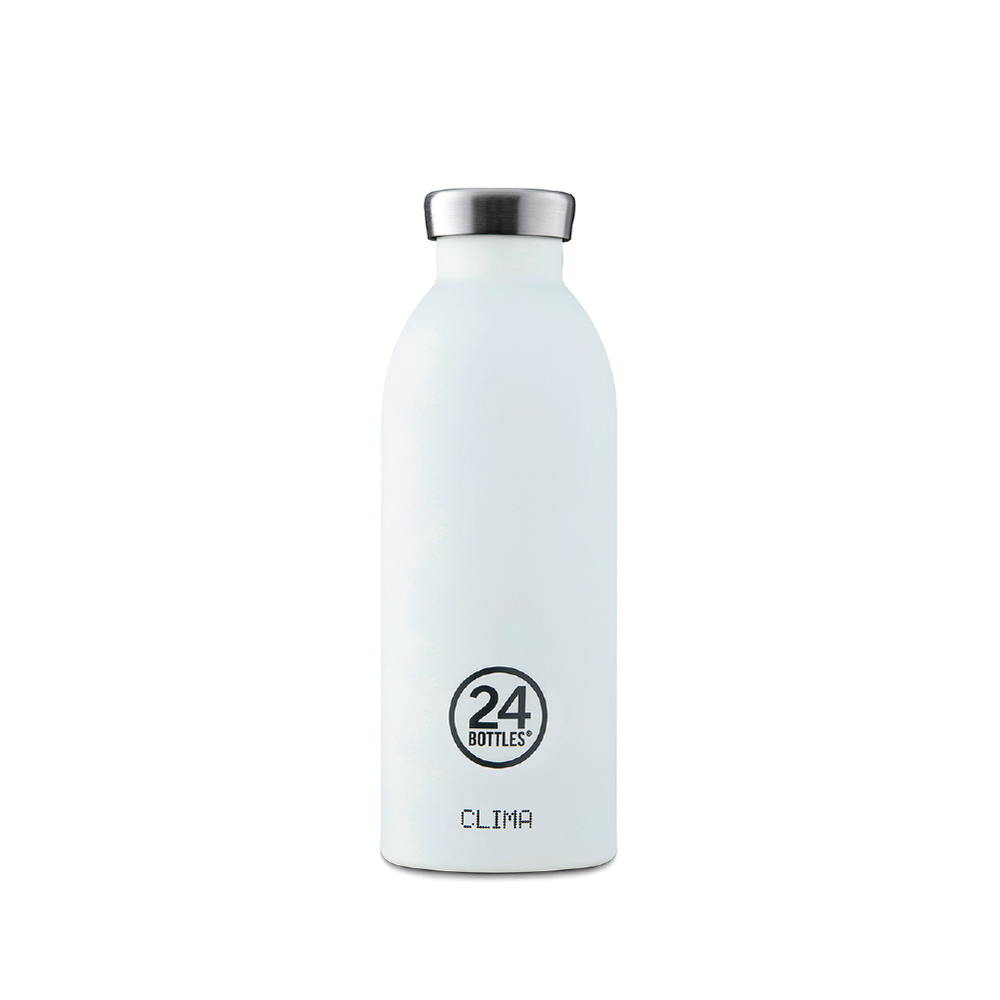 24 Bottles - Clima Bottle 500ML Ice White