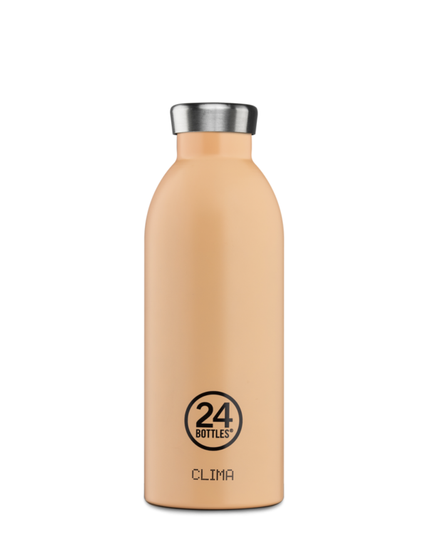 Clima Bottle 500ML Peach Orange