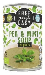 Free & Easy - Organic Vegan Pea & Mint Soup 400g