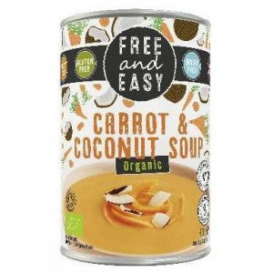 Free & Easy - Organic Vegan Carrot & Coconut Soup 400g