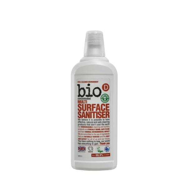 Bio-D - Multi-Surface Sanitiser 750ml