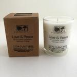 Love & Peace Votive Candle