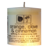 Orange, Clove & Cinnamon Essential Oil Candles
