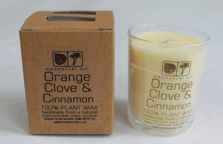 Orange & Clove Votive Candle