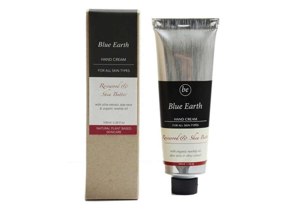 Blue Earth - Rosewood and Shea Butter Hand Cream 35g
