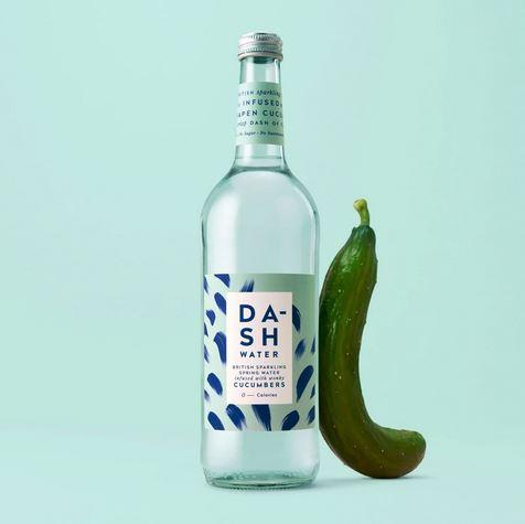 Dash Water - Cucumber Glass 750ml