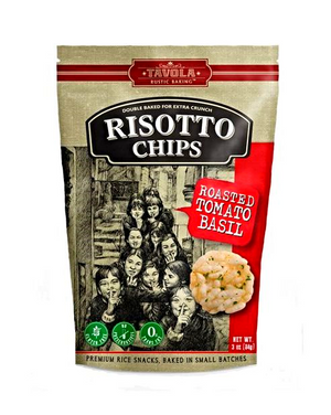 Risotto Chips - Roasted Tomato Basil