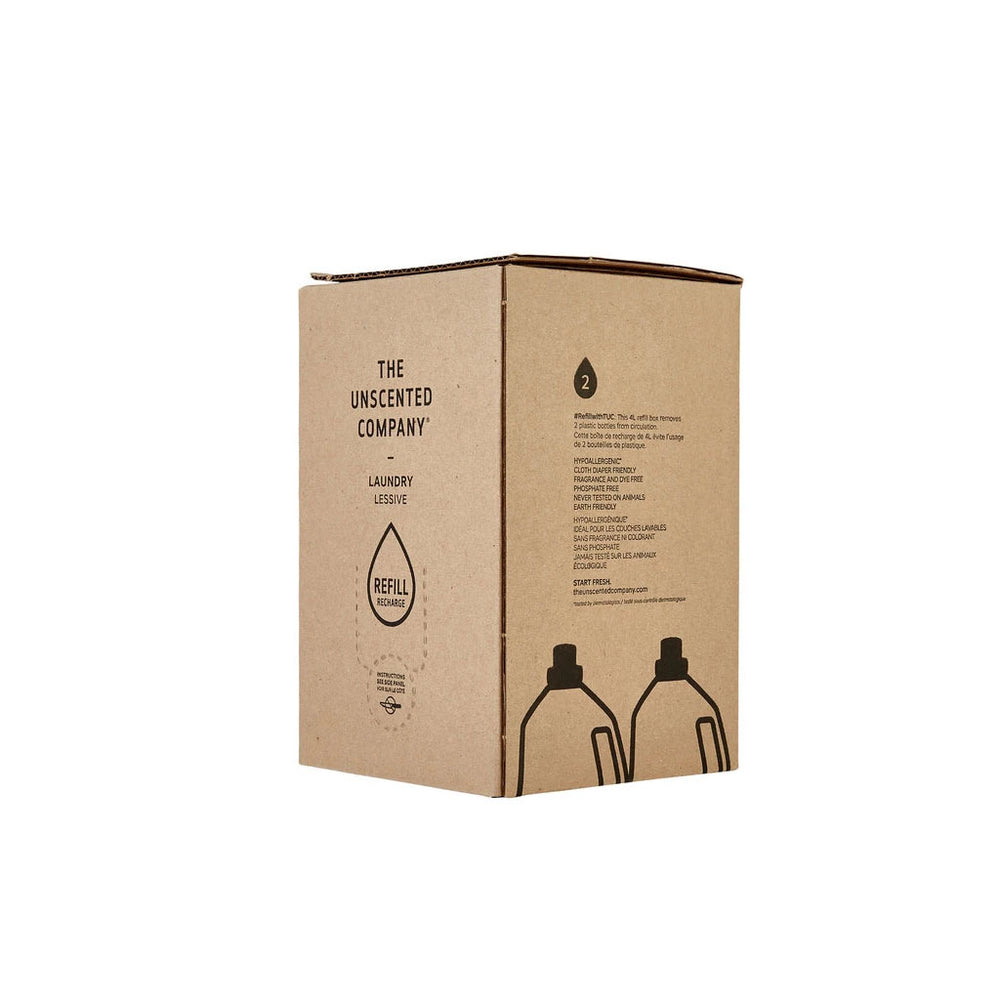 The Unscented Company - Unscented Laundry Refill Box 4L