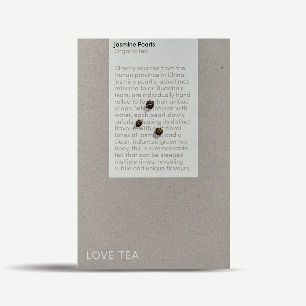 Jasmine Pearls Loose Leaf Box 100g