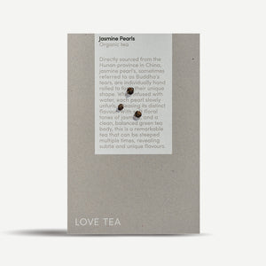Love Tea - Jasmine Pearls Loose Leaf Box 100g